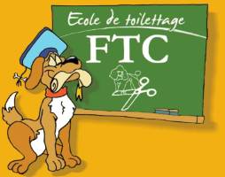 Logo FTC07 - Formation Toilettage Canin